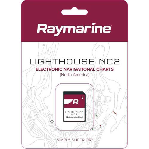 Raymarine LightHouse NC2 Chart - Electronic Navigational Charts - North America [R70740]