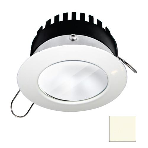 i2Systems Apeiron PRO A506 - 6W Spring Mount Light - Round - Neutral White - White Finish [A506-31BBD]