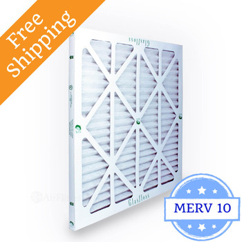 24x24x1 Air Filter ZL Series MERV 10 by Glasfloss
