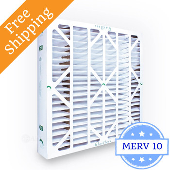24x24x4 Air Filter ZL Series MERV 10 by Glasfloss