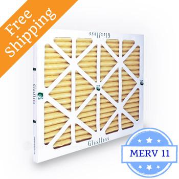 12x25x1 Air Filter MERV 11 Glasfloss Z-Line