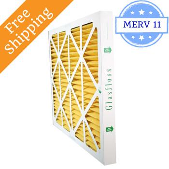 10x20x2 Air Filter MERV 11 Glasfloss Z-Line