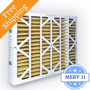 16x20x4 Air Filter MERV 11 Glasfloss Z-Line