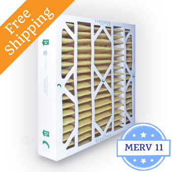 20x20x4 Air Filter MERV 11 Glasfloss Z-Line