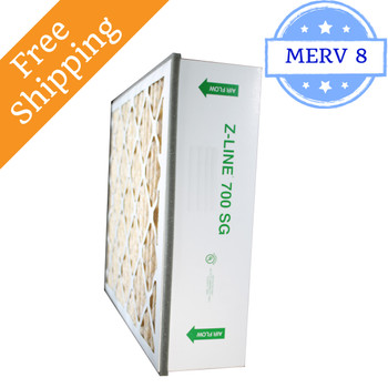 16x27x6 SGP16276 700 SG MERV 10 #401 Replacement - Glasfloss