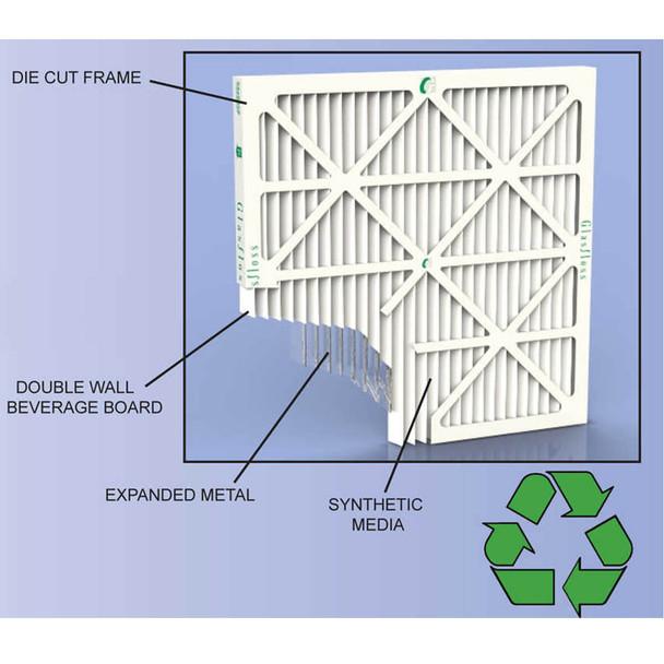 Glasfloss Air Filter ZL Cutaway