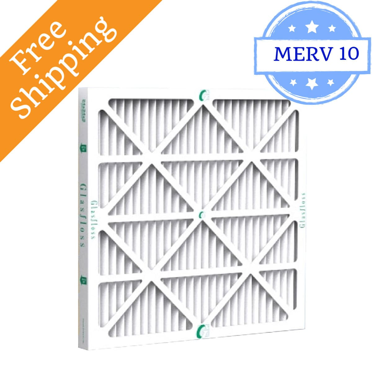Glasfloss 20x25x2 Air Filter ZL Series