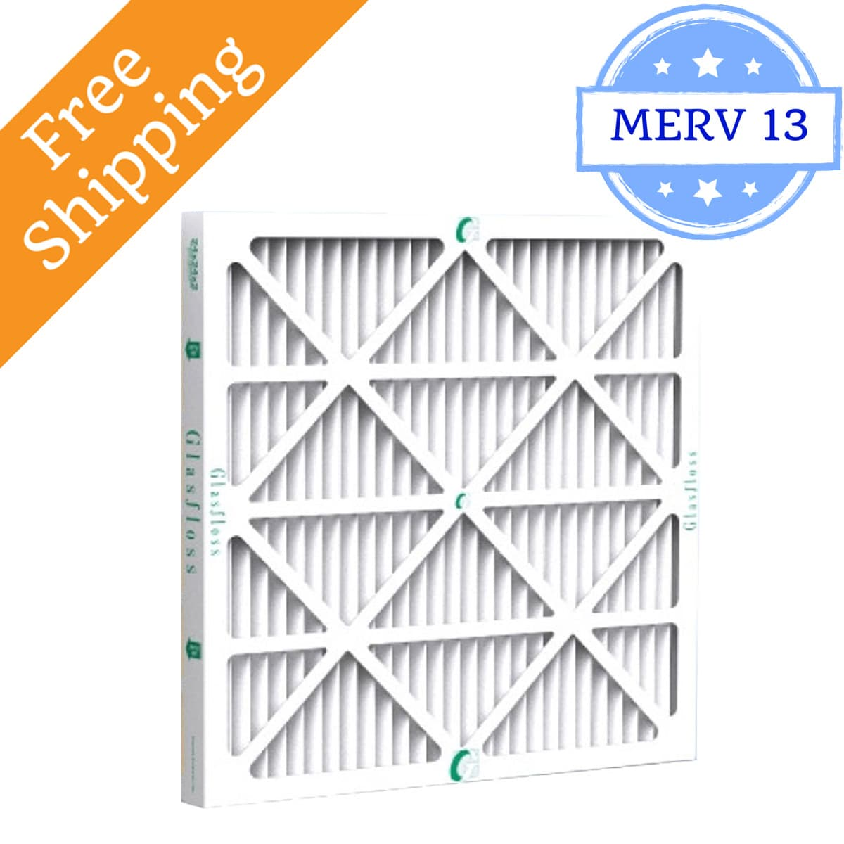 Glasfloss 16x20x2 Air Filter MR-13 Series