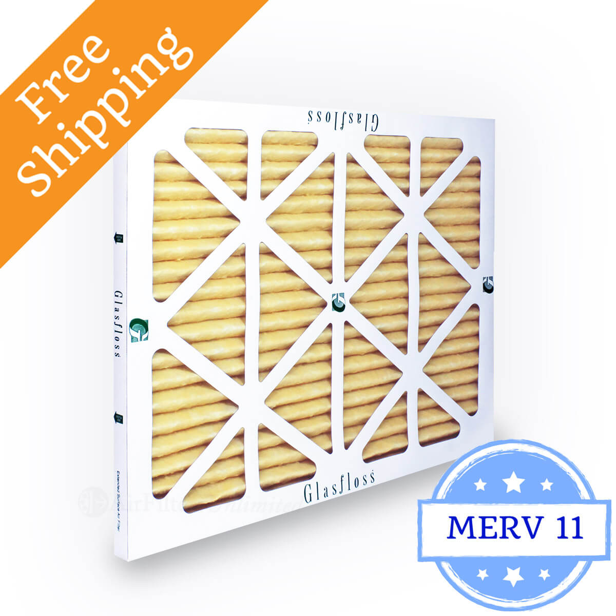 Glasfloss 12x12x1 Air Filter MR-11 Series