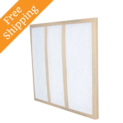 16x16x1 Air Filter Glasfloss Gds Series Disposable Box Of 12