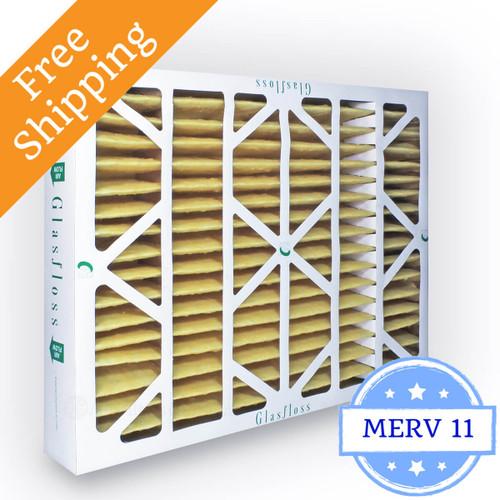 20x25x4 Air Filter Merv 11 Glasfloss Z Line Box Of 6