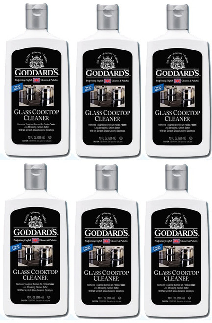 Goddards Glass Cooktop Cleaner 6 Pack