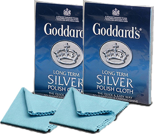 Twin Pack Goddards Long Term Silver Cloth