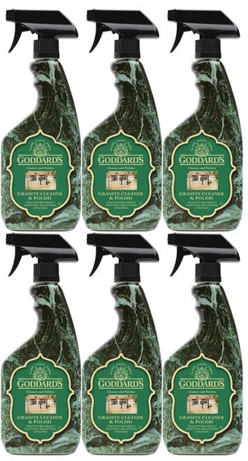 Goddards Granite Polish Spray 6 Pack