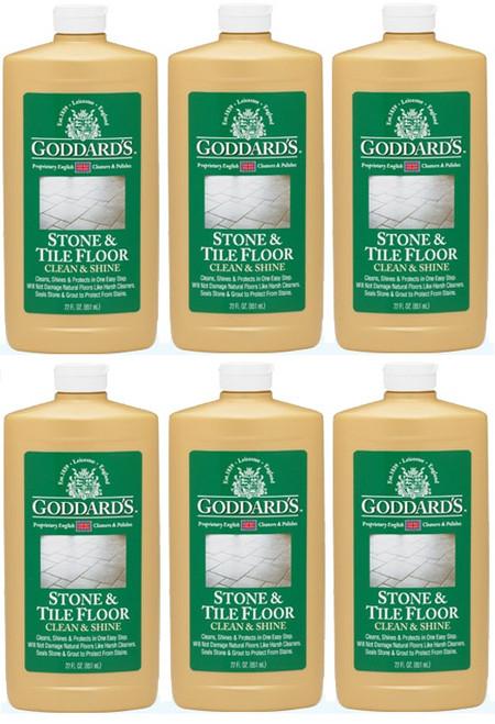 Goddard's Stone & Tile Floor Clean & Shine 6 Pack