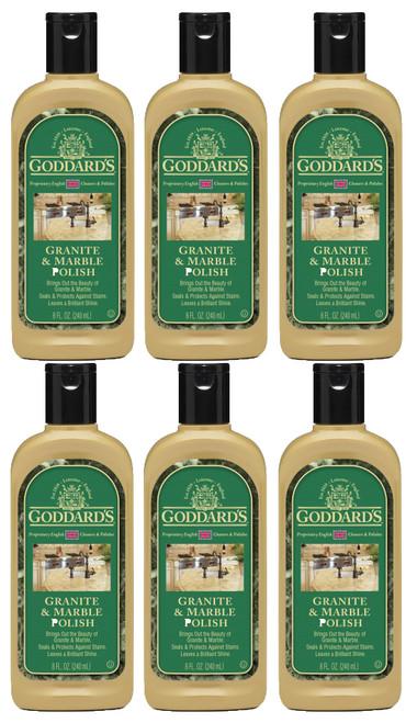 Goddards Granite & Marble Polish 6 pack