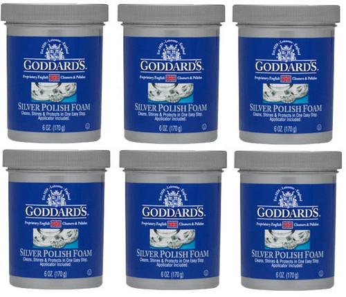 Goddard's Long Term Silver Pad Foam 6 Pack