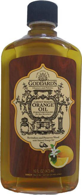 Goddards Cabinet Makers Orange Furniture Oil 473ml