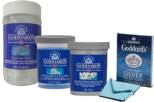 Goddards Dip Foam Jewellery Care and Silver Cloth