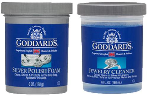 Goddards Silver Foam & Jewellery Care Kit