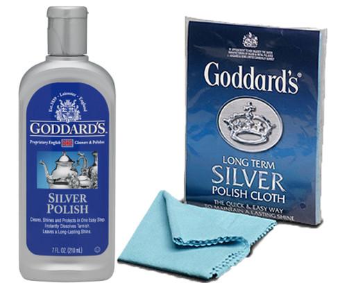 Goddards Silver Polish & Silver Cloth