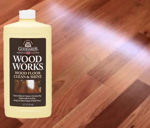 Goddard's Wood Works & Wood Floor Clean & Shine