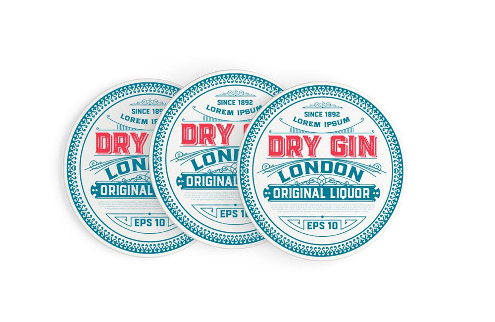 Blanks/USA Drink Coasters