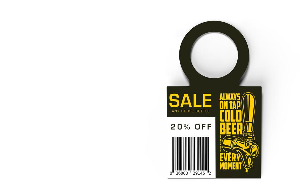 Blanks/USA Bottle Hangers