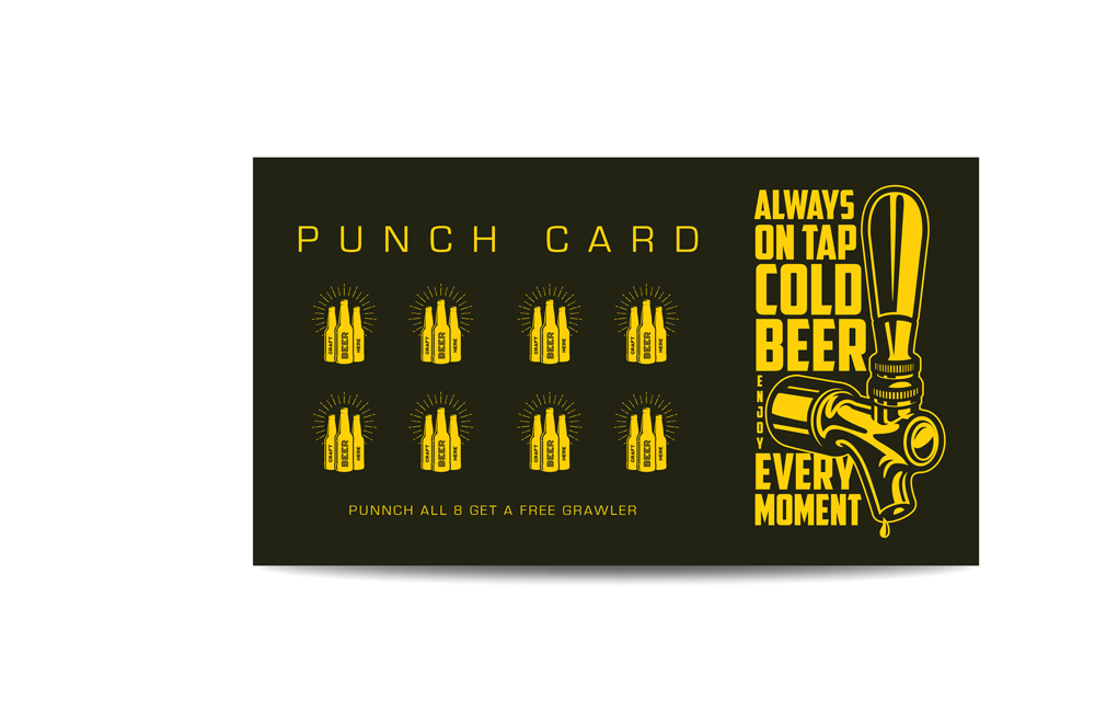 Blanks/USA Business Card Punch Cards