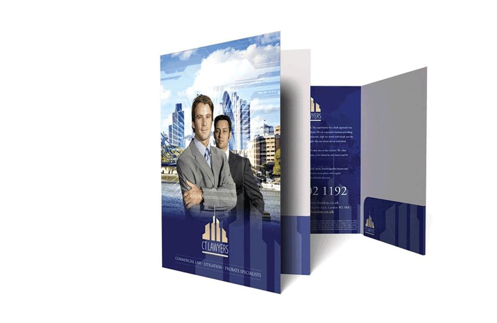 Blanks/USA Presentation Folders
