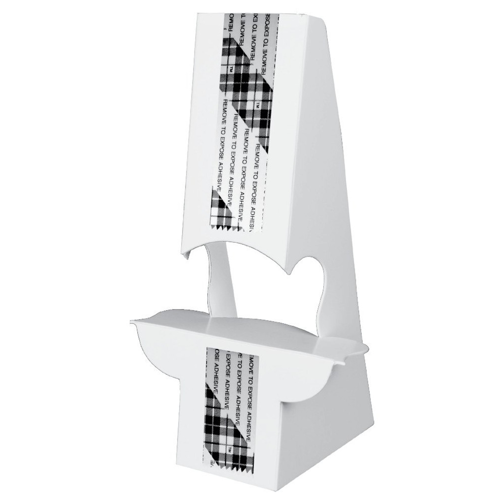 White Double Wing Easel