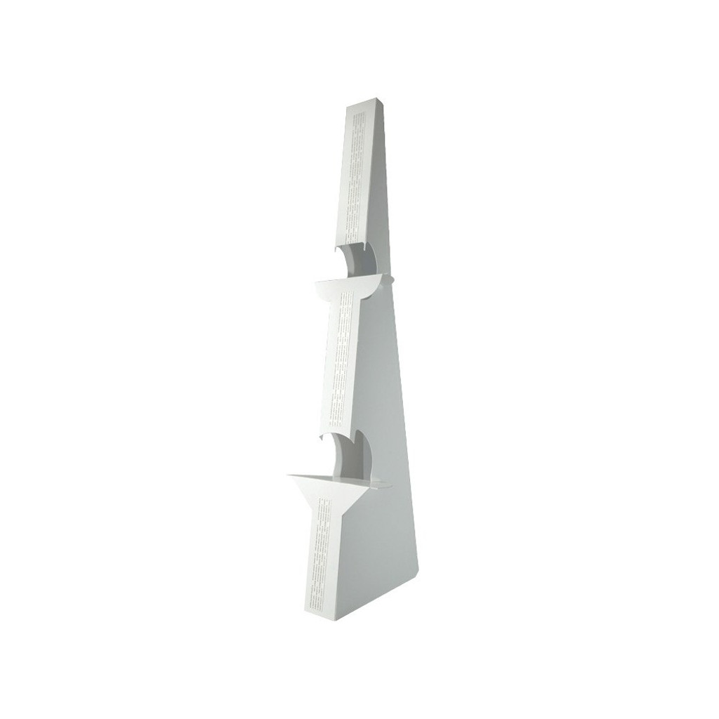White Double Wing Floor Easel