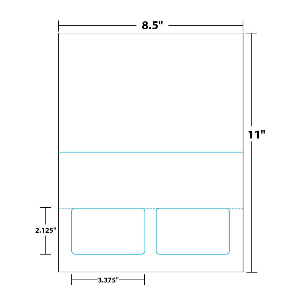 Measurements - 1-up
