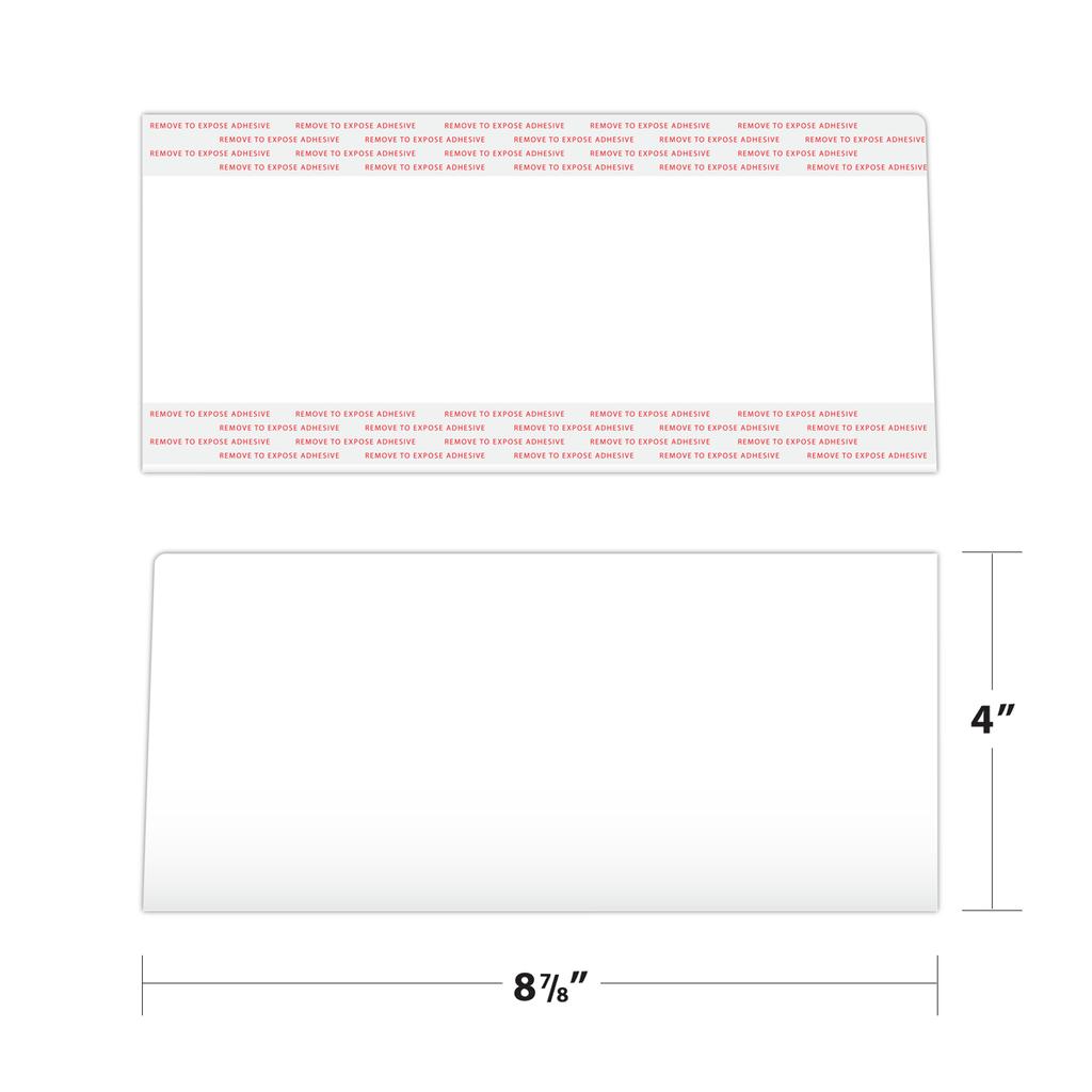 Folder Pocket Measurements
