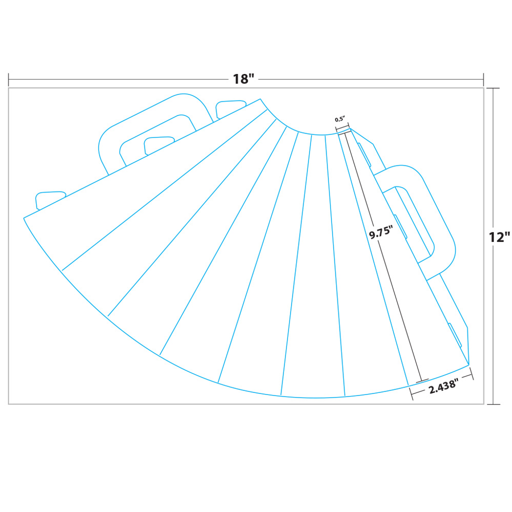 """picture about Printable Megaphone Template known as Raise Offâ""""¢ Megaphone"""