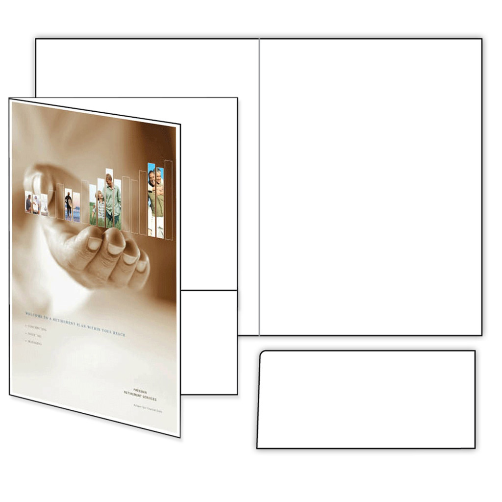 """photograph relating to Printable Folder called Elevate Offâ""""¢ Printable Pocket Folder Package with 1 Immediately Pocket"""
