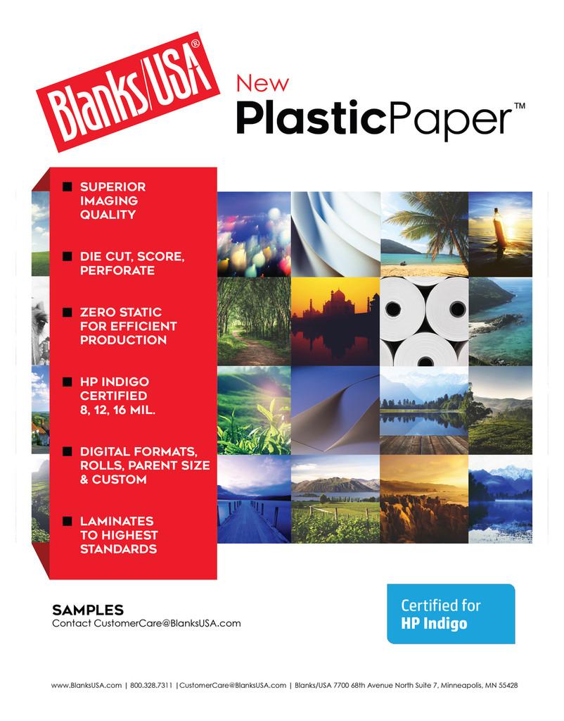 Plastic Paper™ Cut Sheet