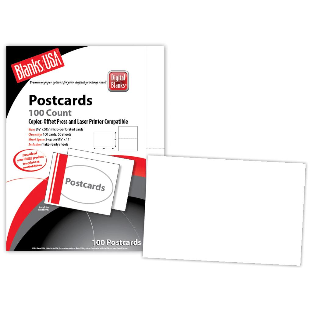 "Postcard #5, 2-up on 8.5"" x 11"" sheet"