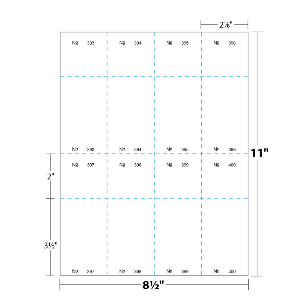Sheet Dimensions