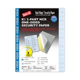 Kan't Kopy Carbonless Security Paper