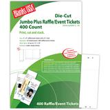 "Raffle Ticket, 8-up on 12"" x 18"" sheet"