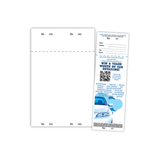 Raffle Ticket sample and sheet.