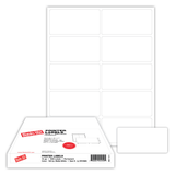 """4"""" x 2.5"""" Label, 10-up on 8.5"""" x 11"""" sheet"""