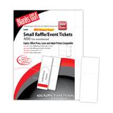 "Digital Event Ticket, 8-up on 11"" x 17"" sheet"