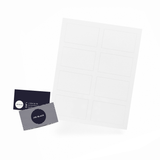 Sample Card with Sheet