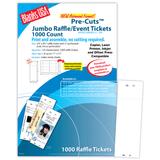 DigitalBlanks Pre-Cut Jumbo Raffle Ticket