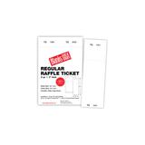 "Digital Raffle Ticket, 8-up on 11"" x 17"" sheet"