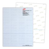 Sample Perforated Security Paper