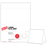 """Table Tent, 2-up on 9.75"""" x 12.875"""" sheet"""