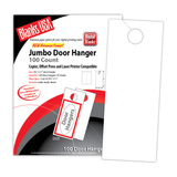 "Digital Door Hanger, 2-up on 8.5"" x 11"" sheet"